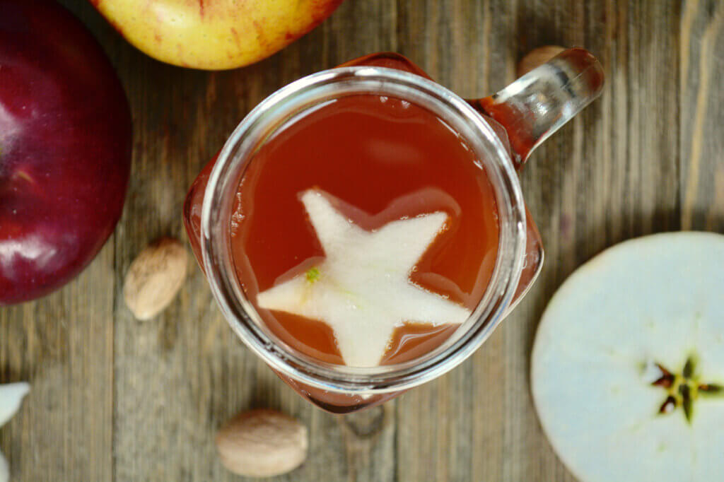 homemade apple cider for renal diet | kidney friendly | low potassium beverages