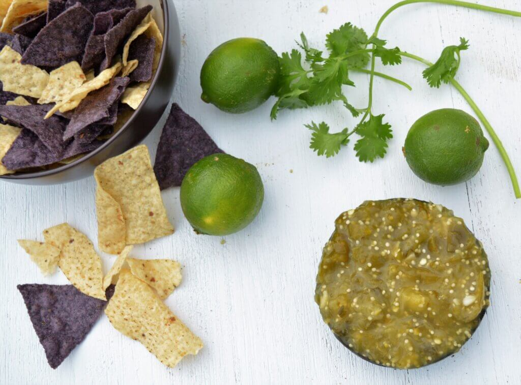 Kidney friendly salsa for renal diet to decrease potassium and sodium.